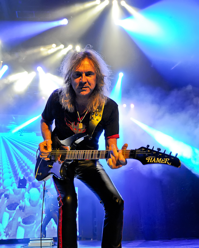 Glenn Tipton of Judas Priest / Photo © Manuel Nauta