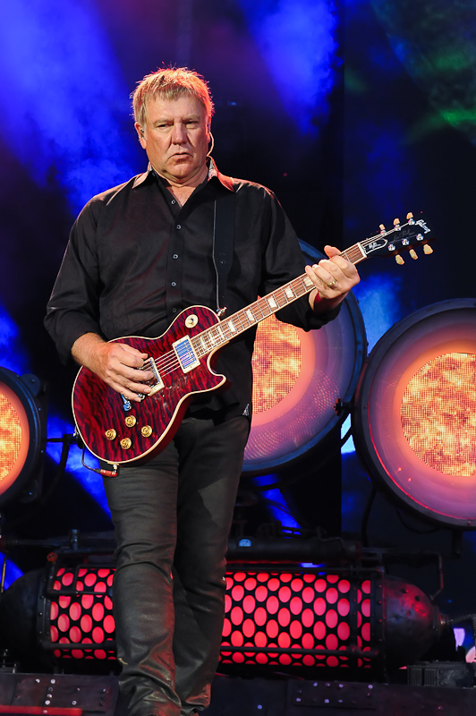Alex Lifeson of Rush / Photo © Manuel Nauta