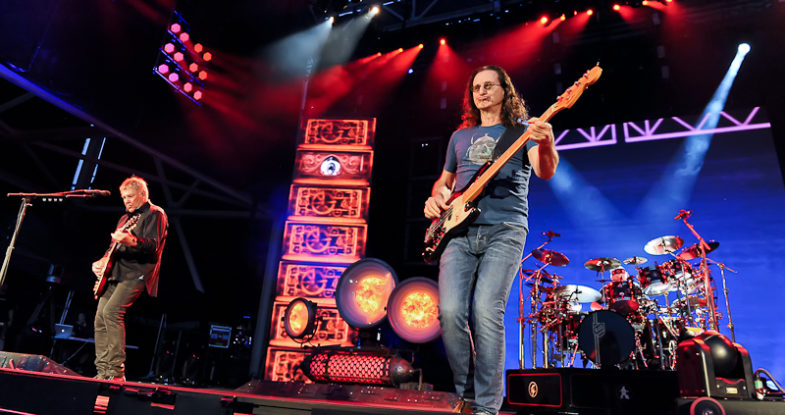 Alex Lifeson, Geddy Lee and Neil Peart of Rush / Photo © Manuel Nauta