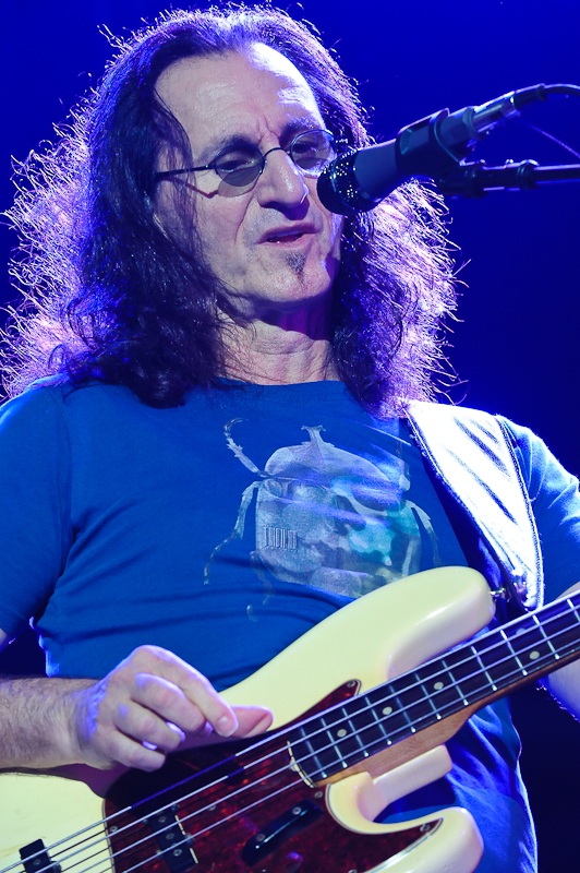 Geddy Lee of Rush / Photo © Manuel Nauta