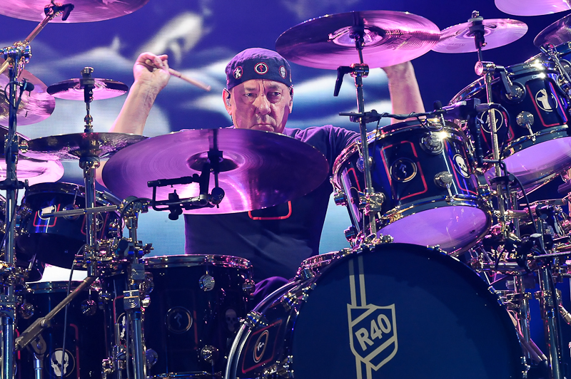 Neil Peart of Rush / Photo © Manuel Nauta