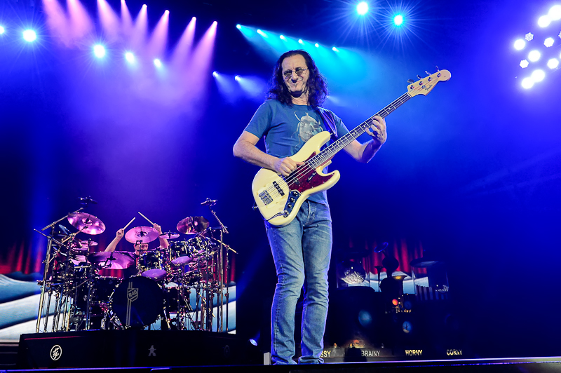Neil Peart and Geddy Lee of Rush / Photo © Manuel Nauta