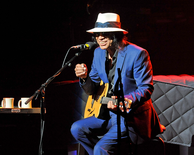 Sixto Rodriguez performs in concert at Bass Concert Hall on June 23, 2015 in Austin, Texas. Photo © Manuel Nauta