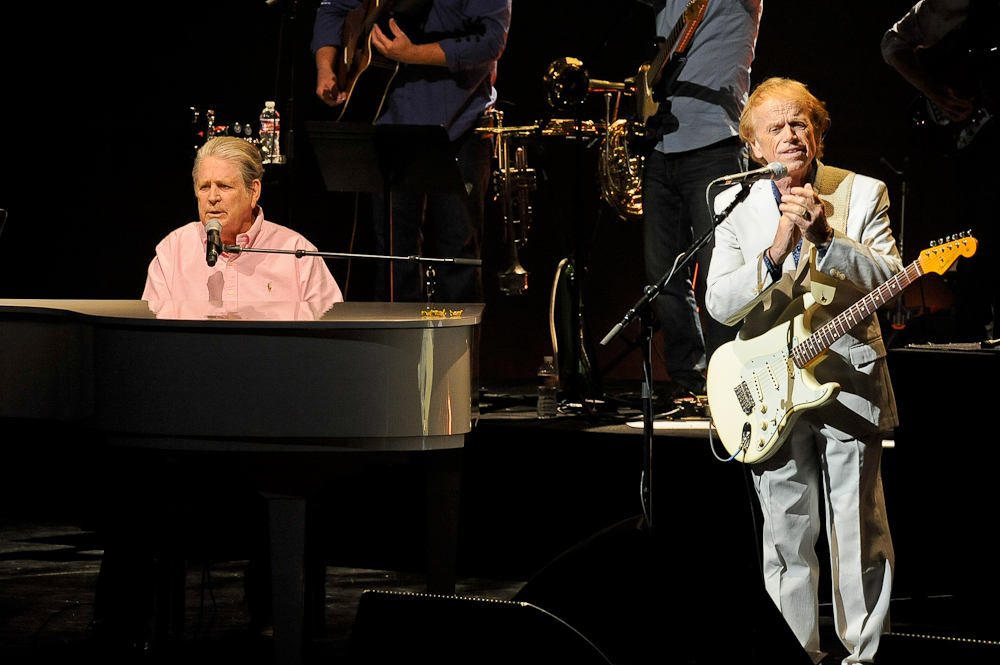 Brian Wilson (L) and Al Jardine perform in concert at Bass Concert Hall on June 23, 2015 in Austin, Texas. Photo © Manuel Nauta