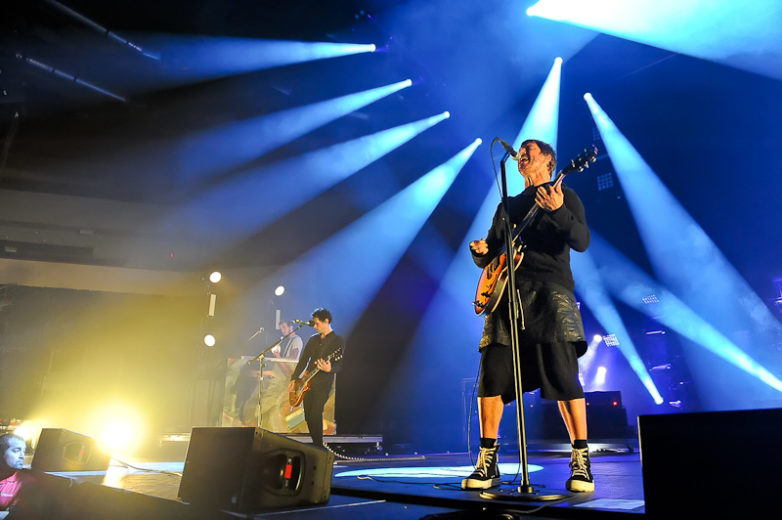 Alex Kopp, Kryz Reid and Stephan Jenkins of Third Eye Blind perform at Cedar Park Center on July 3, 2015 in Cedar Park, Texas. Photo © Manuel Nauta