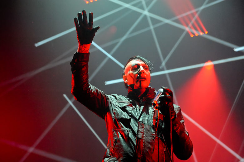 Marilyn Manson performs in concert at ACL Live on July 19, 2015 in Austin, Texas. Photo © Manuel Nauta