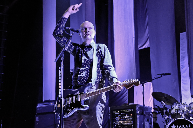 Billy Corgan of The Smashing Pumpkins performs in concert at ACL Live on July 19, 2015 in Austin, Texas. Photo © Manuel Nauta