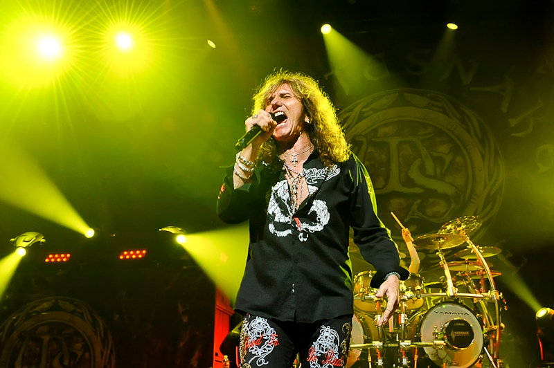 David Coverdale of Whitesnake performs at ACL Live on August 9, 2015 in Austin, Texas. Photo © Manuel Nauta