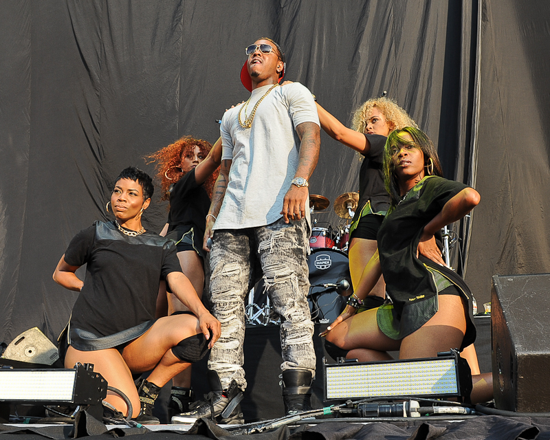 Jeremih performs in concert at the Austin360 Amphitheater on August 22, 2015 in Austin, Texas. Photo © Manuel Nauta