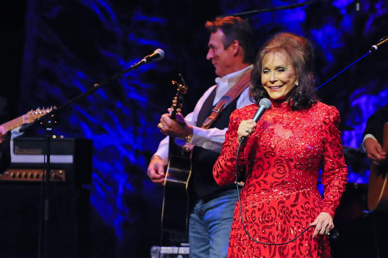Loretta Lynn in concert at ACL Live at Moody Theater on October 18, 2015 in Austin, Texas. Photo by Manuel Nauta