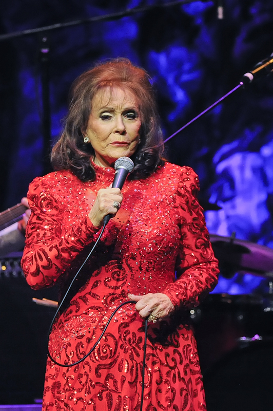 Loretta Lynn in concert at ACL Live at Moody Theater on October 18, 2015 in Austin, Texas. Photo © Manuel Nauta