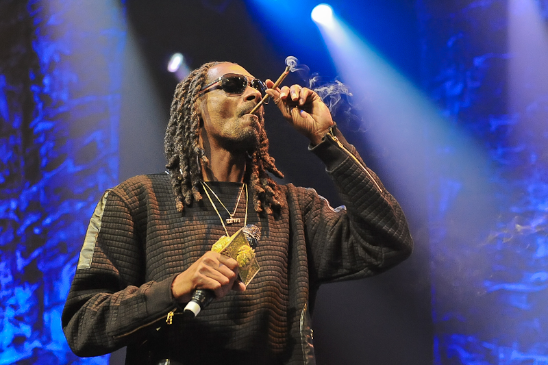 Calvin Cordozar Broadus, Jr. known as Snoop Dogg performs in concert at ACL Live at Moody Theater on October 23, 2015 in Austin, Texas. Photo © Manuel Nauta