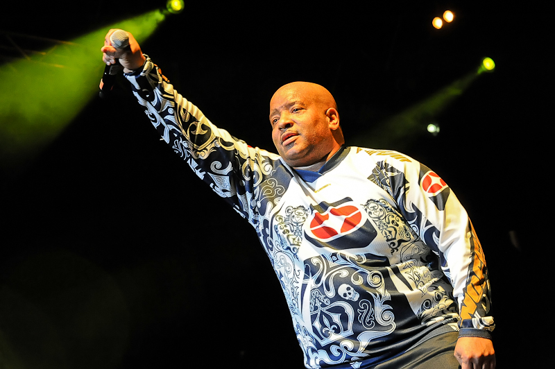 Young MC performs onstage as part of 'I Love the 90's' at Cedar Park Center on February 5, 2016 in Cedar Park, Texas. Photo © Manuel Nauta
