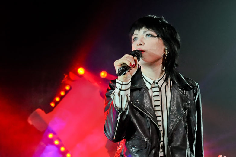 Carly Rae Jepsen performs in concert at ACL Live on February 20, 2016 in Austin, Texas. Photo © Manuel Nauta