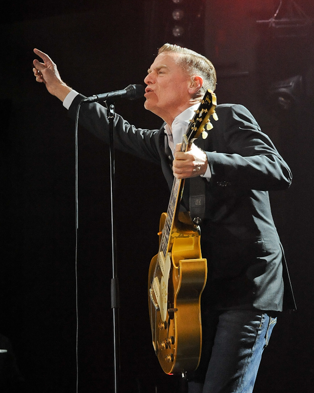 Bryan Adams in concert at Cedar Park Center on April 11, 2016 in Cedar Park, TX. Photo © Manuel Nauta