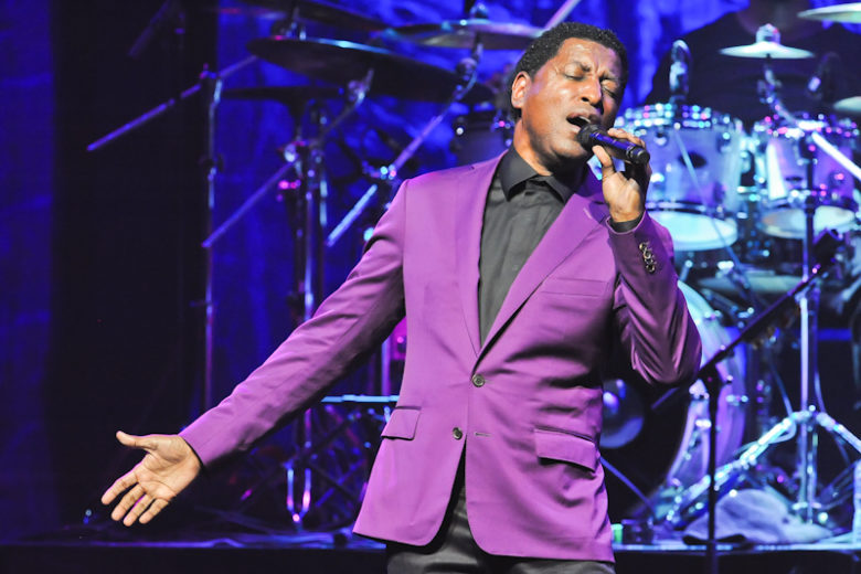 "Kenny ""Babyface"" Edmonds performs in concert at ACL Live Moody Theater on June 30, 2016 in Austin, Texas. Photo © Manuel Nauta"