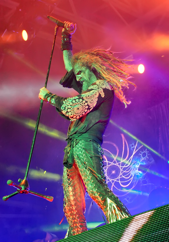 Rob Zombie performs in concert at the Austin 360 Amphitheater on August 2, 2016 in Austin, Texas. Photo © Manuel Nauta