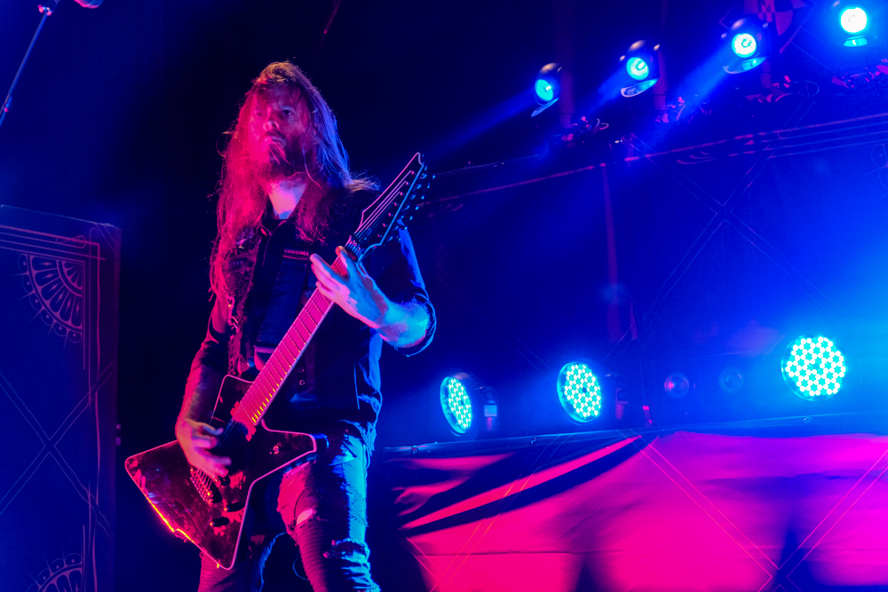 Machine Head perform at The Aztec Theatre in San Antonio, TX - USA