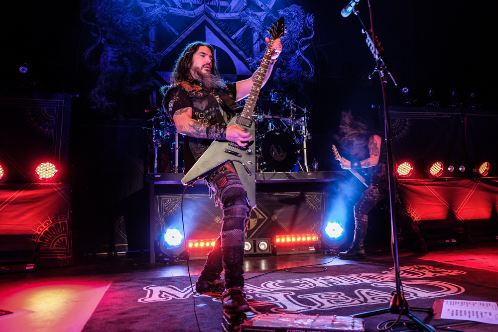 Robb Flynn performs in concert with Machine Head on the Burn My Eyes 25th Anniversary Tour at The Aztec Theatre on January 21, 2020 in San Antonio, Texas. Photo © Manuel Nauta