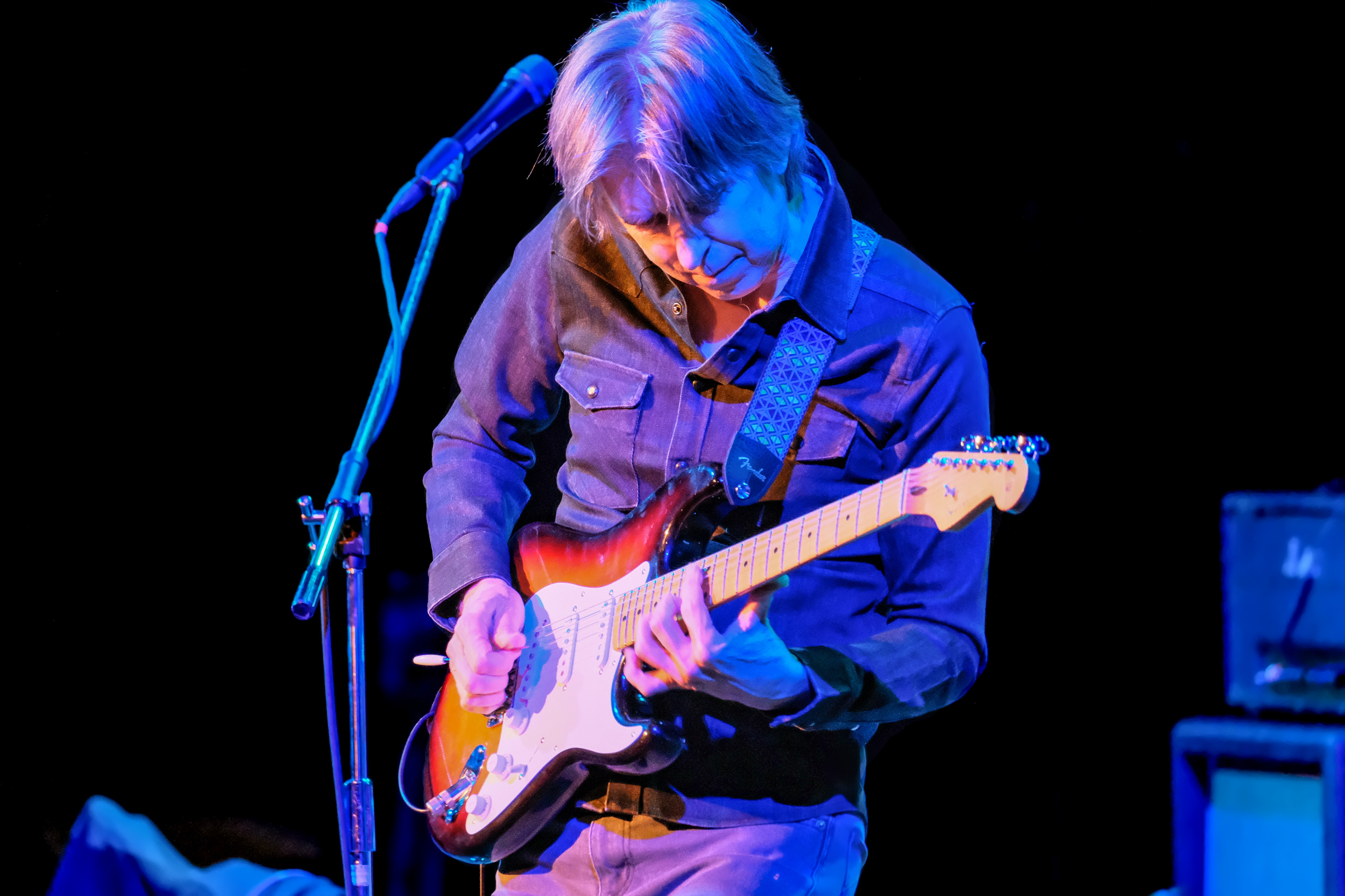 Eric Johnson performs in concert on his tour Classics: Present and Past at The Aztec Theatre on January 30, 2020 in San Antonio, Texas. Photo © Manuel Nauta