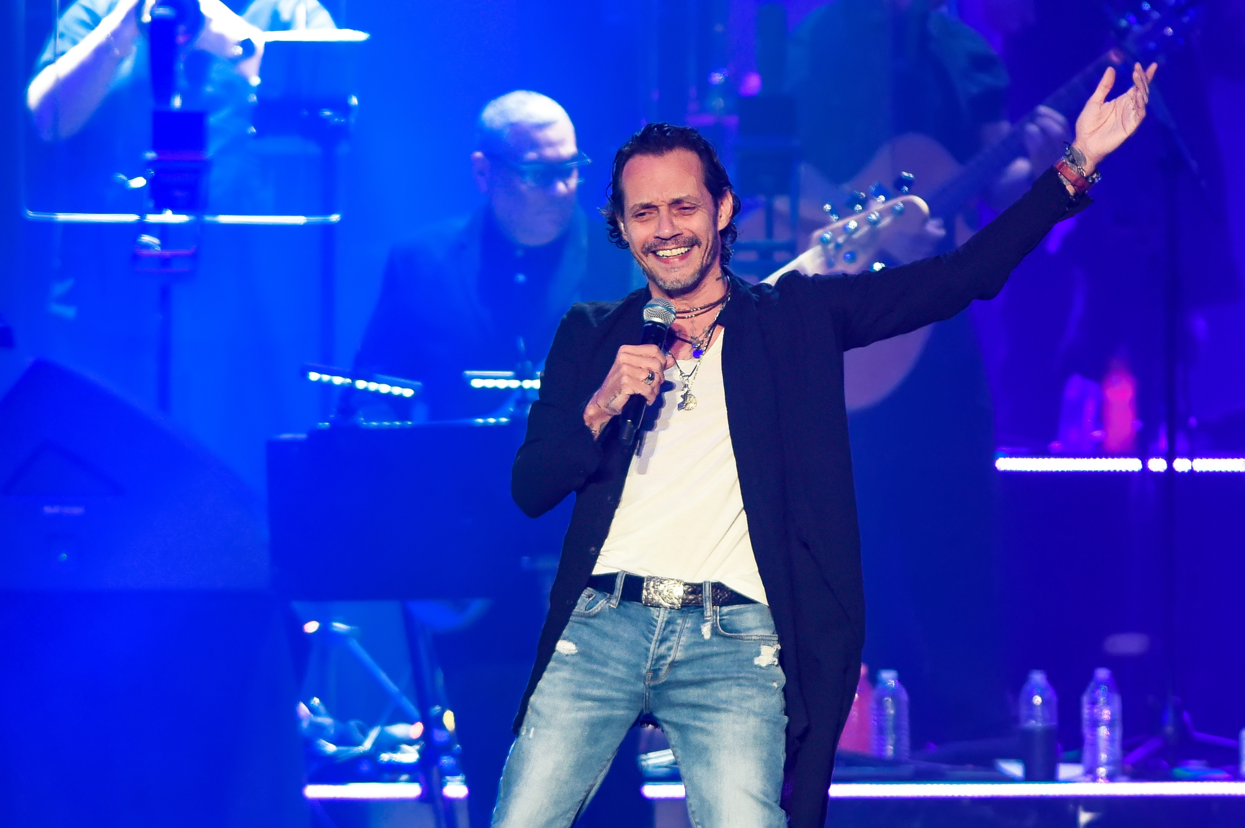 Marc Anthony in concert on the 2020 OPUS tour at the H.E.B. Center on March 1, 2020 in Cedar Park, Texas. Photo © Manuel Nauta
