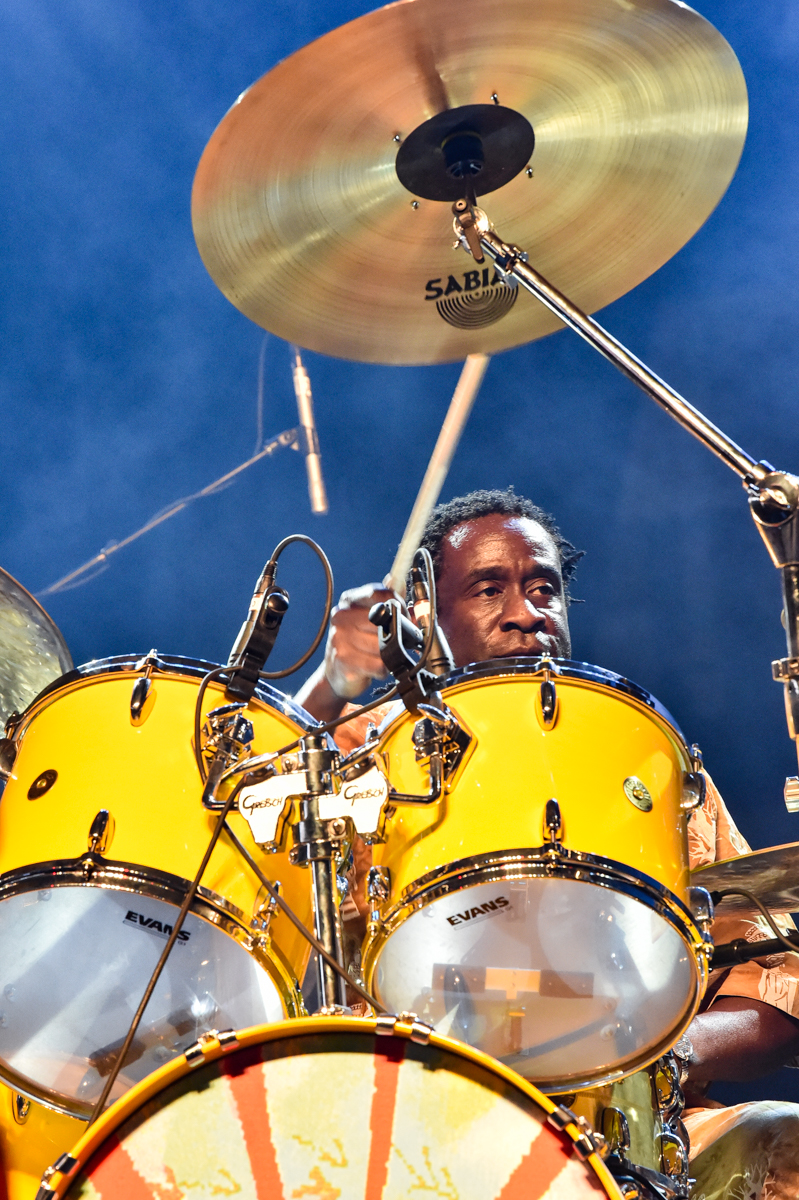 CEDAR PARK, TX - JULY 11: Will Calhoun of Living Colour performs in concert during the Summerland Tour at HEB Center on July 11, 2021 in Cedar Park, Texas. Photo © Manuel Nauta