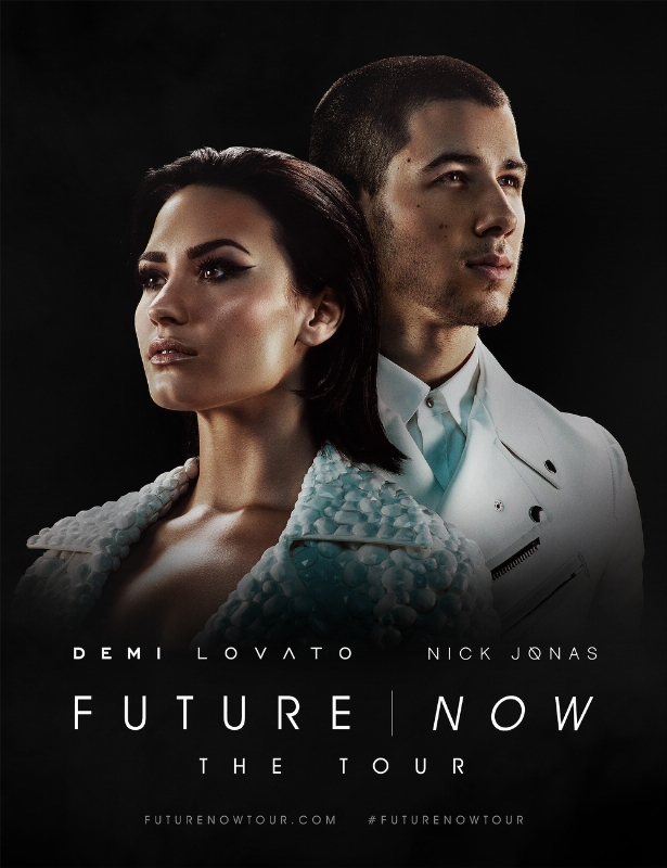 DEMI LOVATO AND NICK JONAS INVITE YOU TO EXPERIENCE FUTURE NOW: THE TOUR (PRNewsFoto/Live Nation Entertainment)