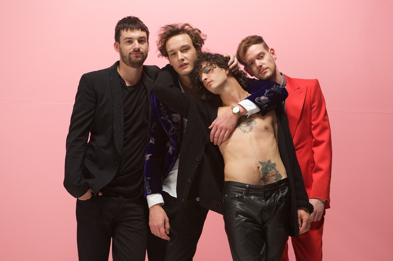 The 1975 Announce North American Headline Tour Supporting Sophomore Album Out February 26 (PRNewsFoto/Interscope Records)