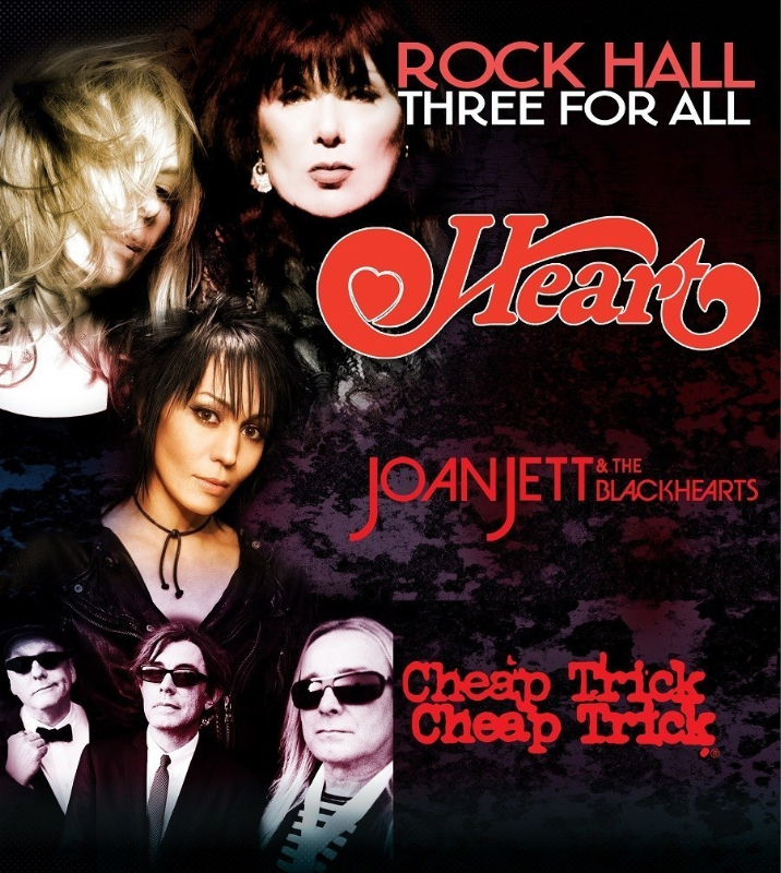 Live Nation Entertainment Heart Joan Cheap Trick