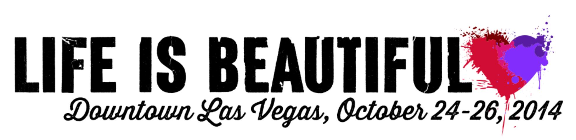 Life Is Beautiful Festival 2014