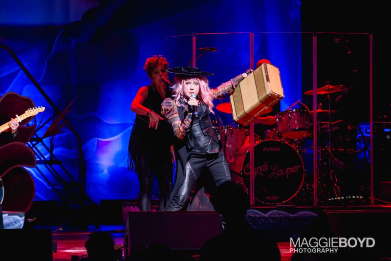 Cyndi Lauper / Photo @ Maggie Boyd