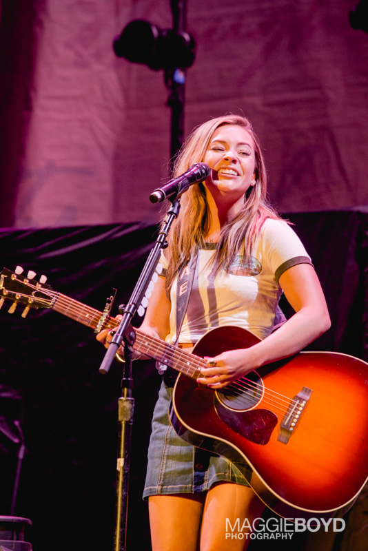 Maddie & Tae in concert at H-E-B Center on Friday August 2016 in Cedar Park Texas. Photo © Maggie Boyd