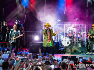 Boy George with Culture Club / Photo © Maggie Boyd