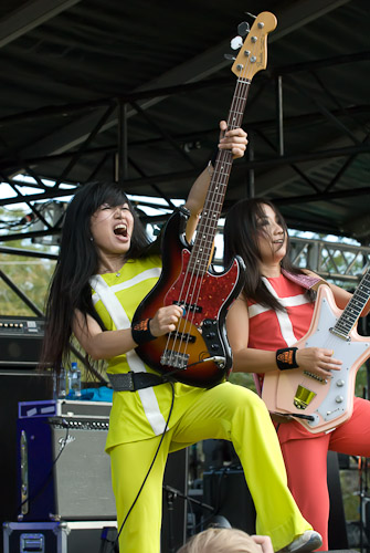 Shonen Knife, 2009 - Photo © Manuel Nauta