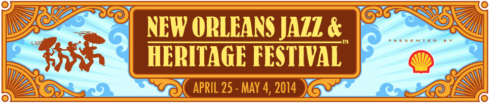 The New Orleans Jazz and Heritage Festival 2014